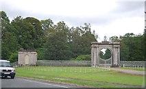 NS3586 : Gateway and Pavilion, Rossdhu House by N Chadwick