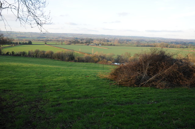 The Wye valley at Merbach