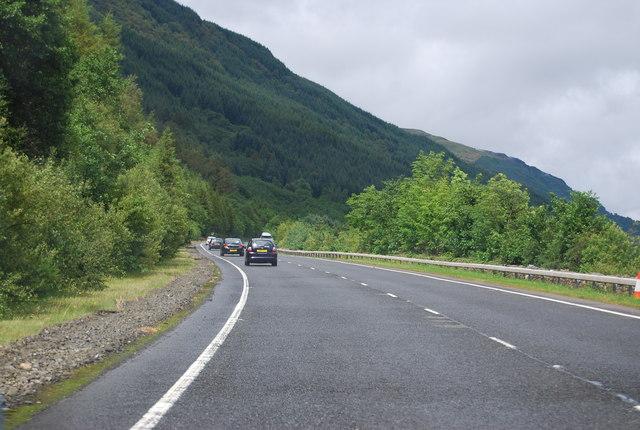 A82 by Loch Lomond
