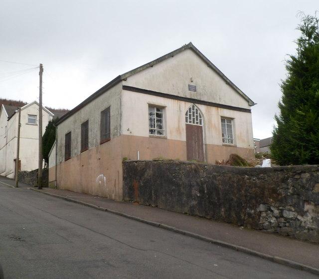 Derelict former Ynyswen Methodist Church