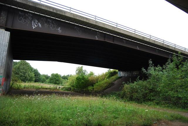 M20 eastbound carriageway bridge