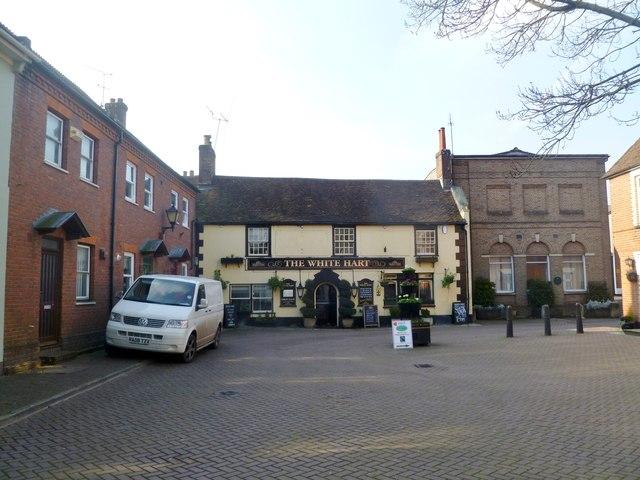 Wimborne, The White Hart