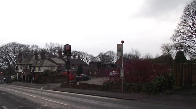 Ainsworth Arms from Starling Road