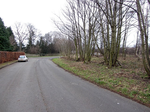B6371, former alignment