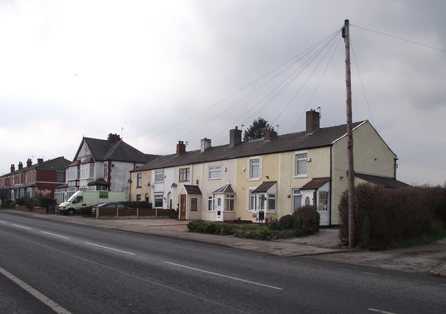 Cottages on Bury and Bolton Road