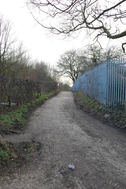 Lane to Boiley Farm