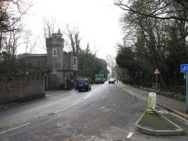 Uphill Manor, Uphill
