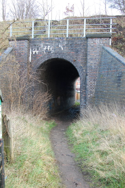 Path Station Road to Netherthorpe Lane