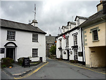 SD3598 : The Red Lion Inn, Hawkshead, Cumbria by Christine Matthews