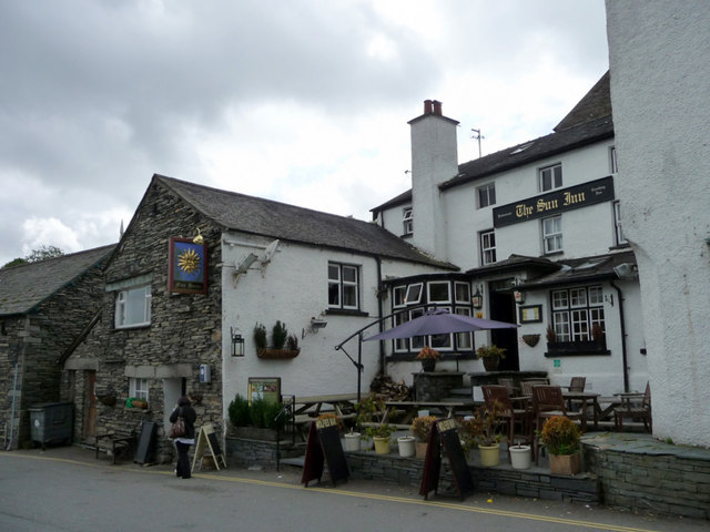 The Sun Inn, Hawkshead, Cumbria