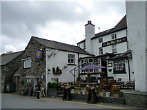 SD3598 : The Sun Inn, Hawkshead, Cumbria by Christine Matthews