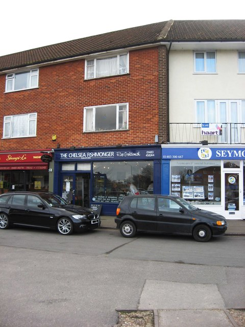 The Chelsea Fishmonger Guildford (Rex Goldsmith), 6 Kingpost Parade, London Road, Burpham, Guildford