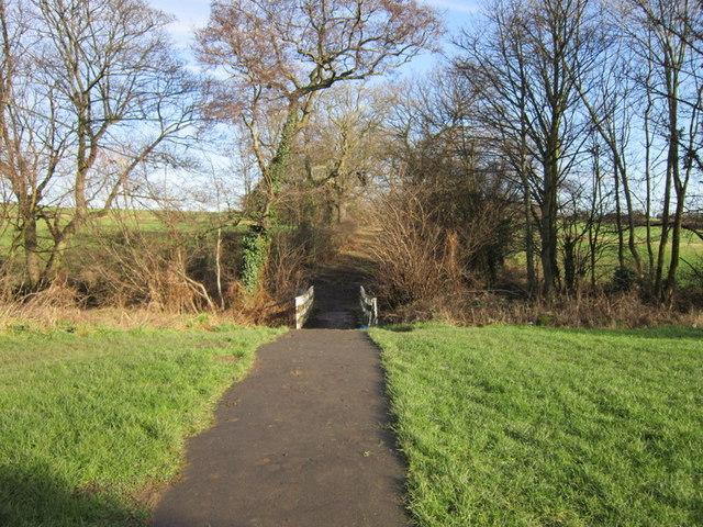 Wood Lane towards Scholes