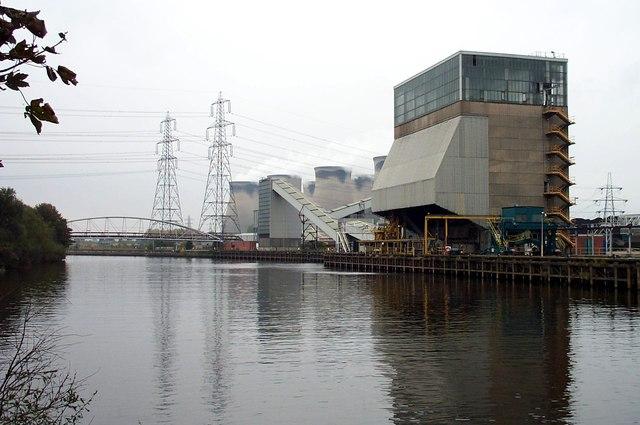 Barge Hoist at Ferrybridge Power station
