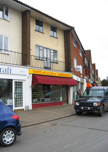 Pat-A-Cake Bakery, Kingpost Parade, Burpham, Guildford