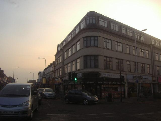 Shops on Goodmayes High Road
