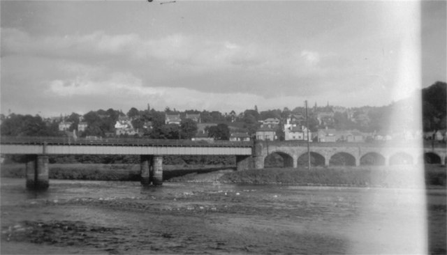 Rail Bridge over River Tay