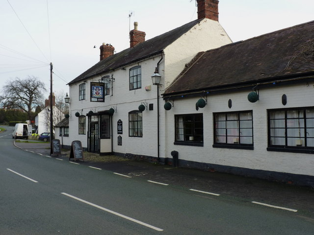 The Tankerville Arms in Longden