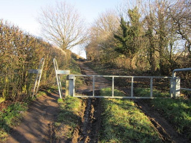 Brecks Lane towards Kippax