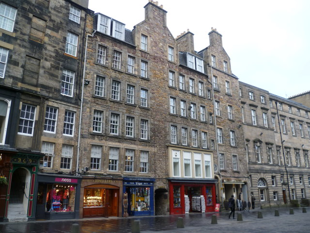 Buildings in the High Street