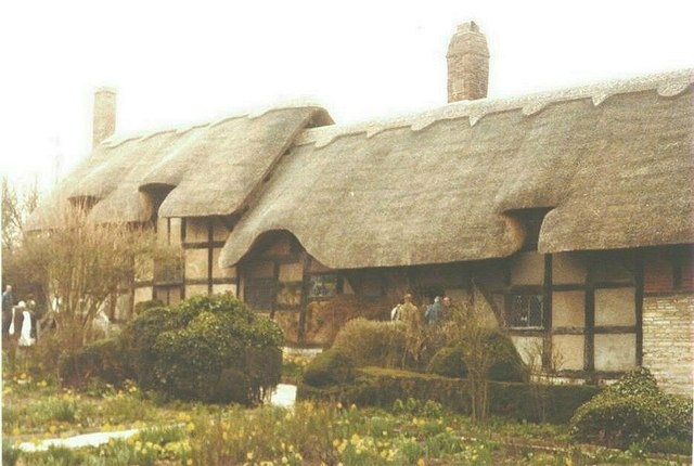 Anne Hathaway's Cottage, Shottery in 1984