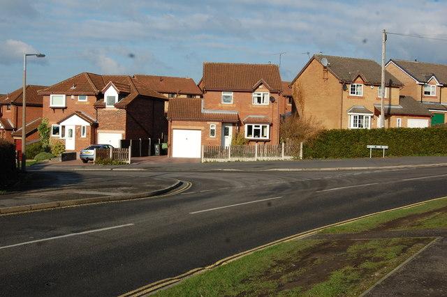 Junction Westthorpe Road & Cherry Tree Drive
