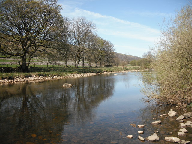 River Wharfe North of Kettlewell