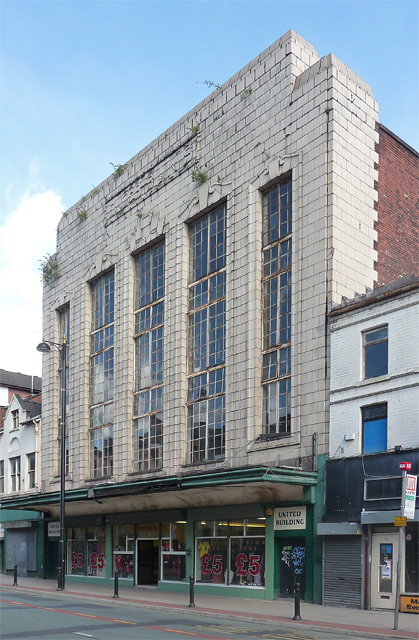 United Building, Oldham Street, Manchester
