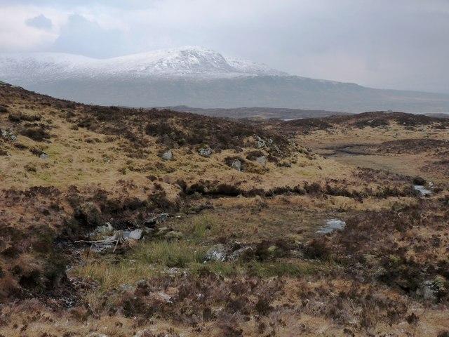 The moor near Allt a' Mhadaidh