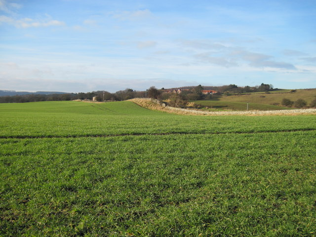Over  fields  to  Cloughton  Village