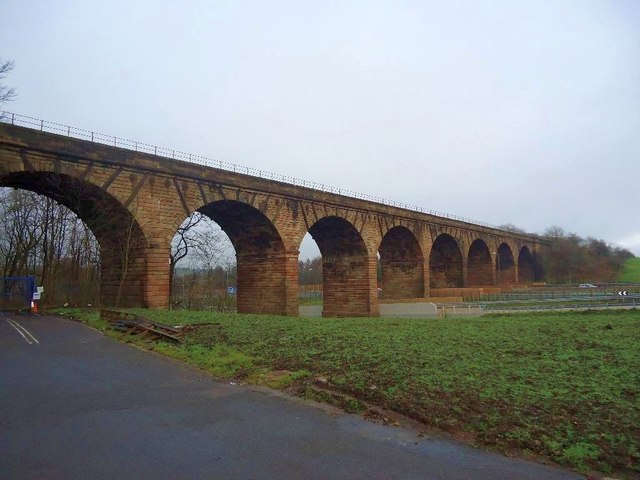 Castlecary, viaduct