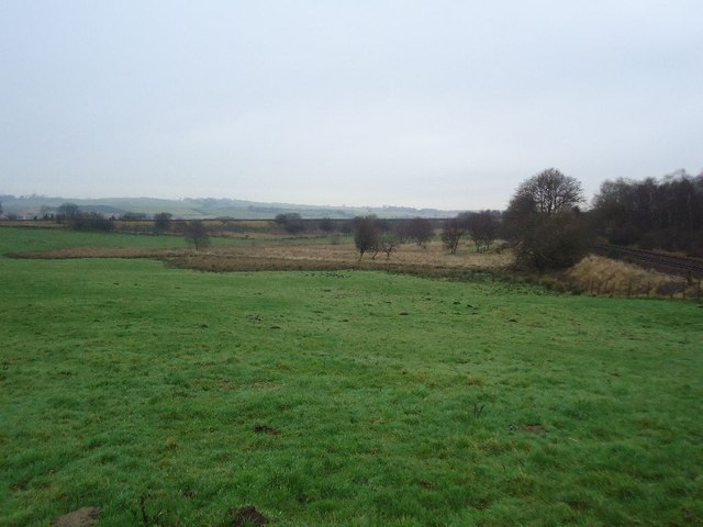Castlecary, pasture and bog