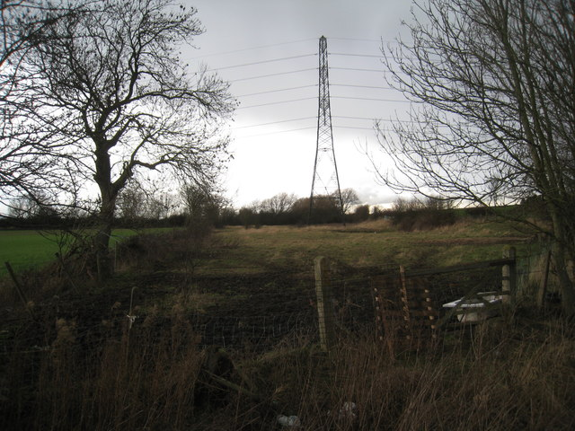 Pylon over the fence
