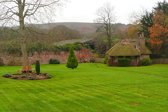 Garden at Holnicote House