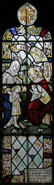 St Margaret of Antioch, Balfour Road, Ilford - Stained glass window
