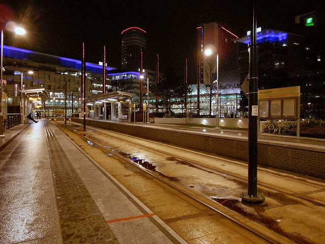 MediaCityUK Tram Station