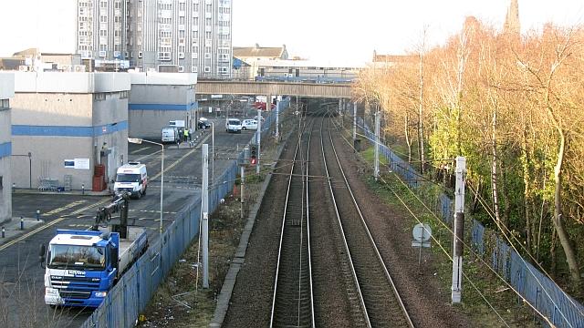 West Coast Main Line, Motherwell