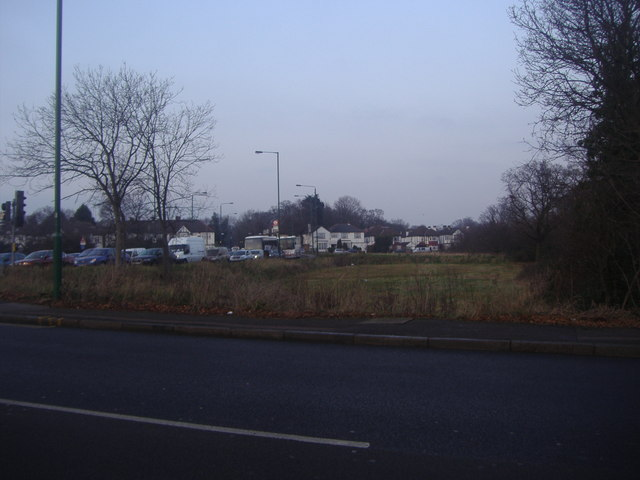 Wanstead flats from Snaresbrook Road