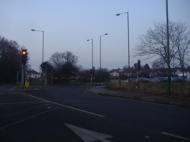Junction of Snaresbrook Road and Woodford New Road
