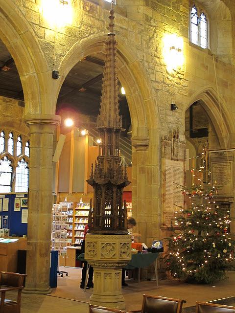 Bradford Cathedral - font