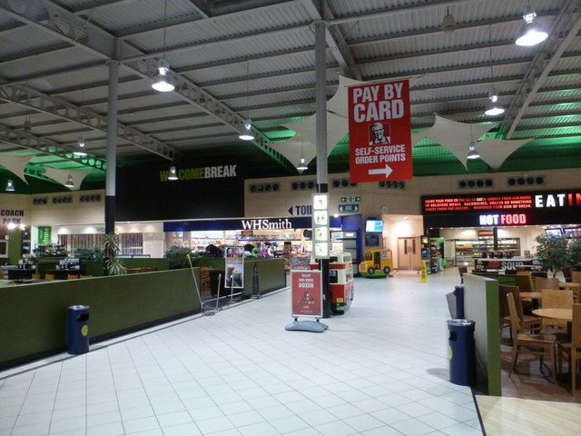 South Mimms: inside the motorway services