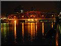 SJ8097 : Salford Quays, The Detroit Swing Bridge by David Dixon