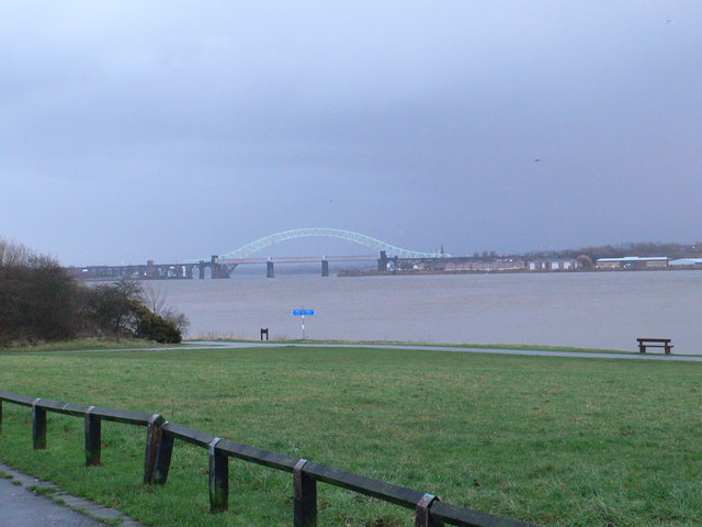 The river Mersey from Pickering's Pasture