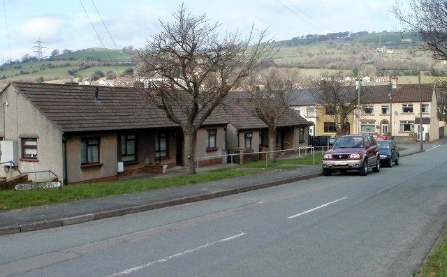 The Crescent bungalows, Bedwas