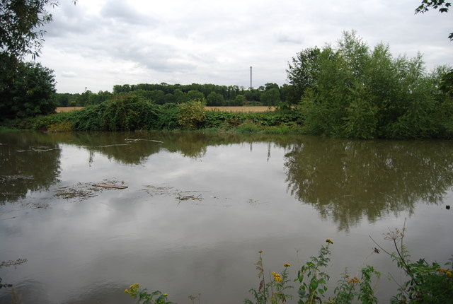 High tide on the River Medway