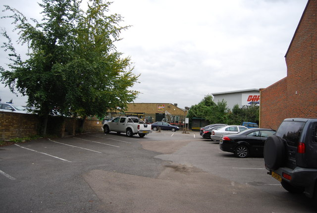Works car park