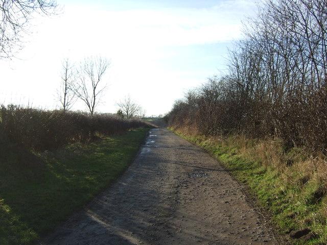 Intake Lane towards Intake Farm