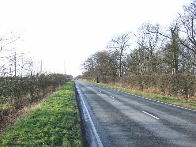 Skeltons Lane heading west