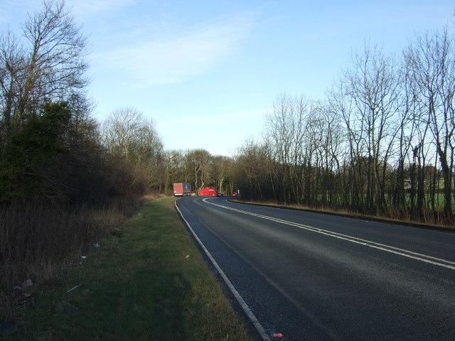 A64 towards York