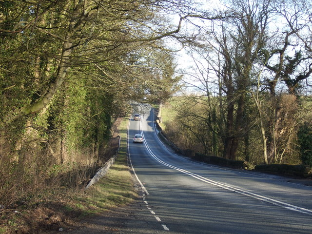 A64 towards York